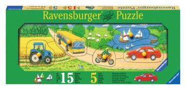 Puzzle Fahrzeuge und Boote