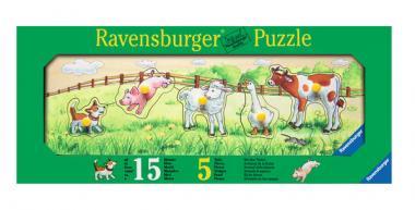 Puzzle Bei den Tieren