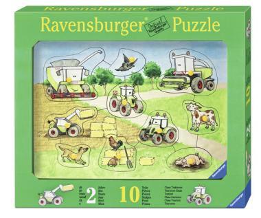 Puzzle Claas Traktoren