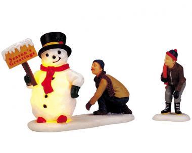 Frostys freundlicher Gruss