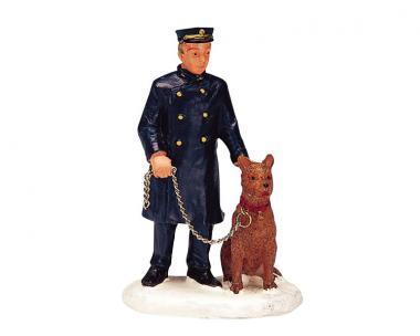 Polizist und sein Freund