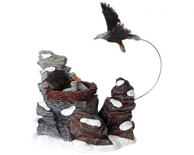 Adlerfütterung