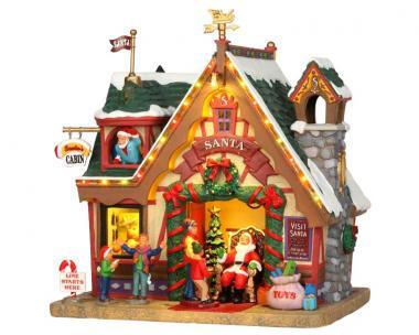 Weihnachtsmannhütte