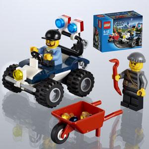 Polizei-Quad