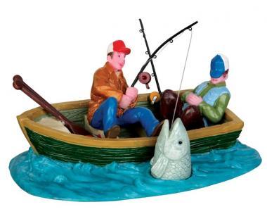 Fischerboot beim Fischen