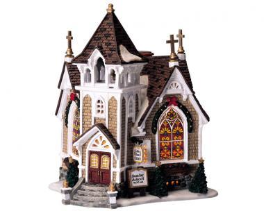 Kleine Kirche am Fluss