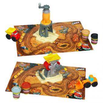Play-Doh Baustellen Spielset