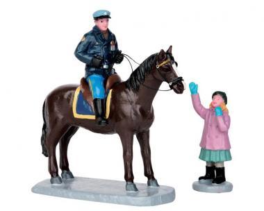 Polizist zu Pferd