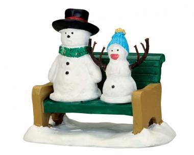 Schneevater & Schneebaby