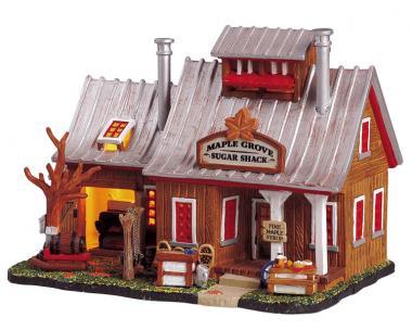 Hütte für Ahornsirup