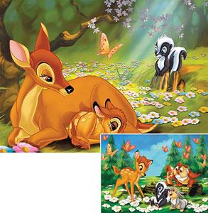 Puzzle Mein Freund Bambi