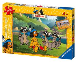 Puzzle Yakari und Freunde