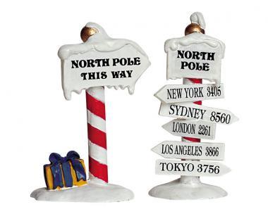 Wegweiser Nordpol
