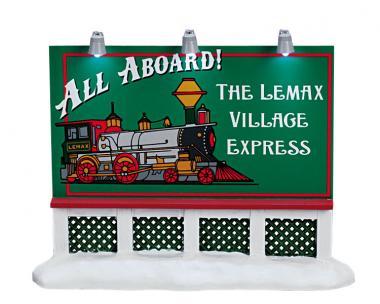 Plakatwand Eisenbahn