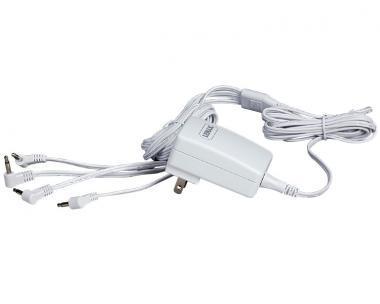 Netzadapter weiss 3V, 4 Ausgänge