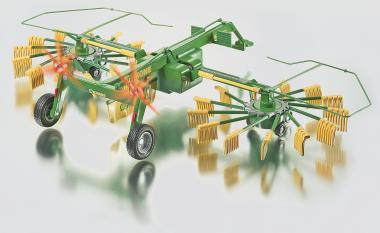 2-Kreisel-Schwader Traktoranhänger Siku Control