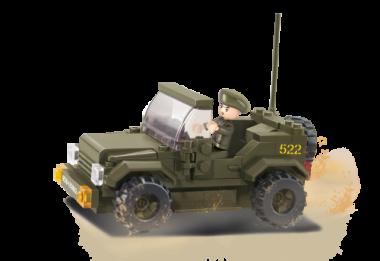 Sluban Militär STREIFENWAGEN