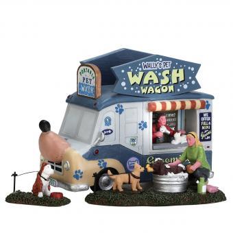 Wallys Haustierwaschwagen