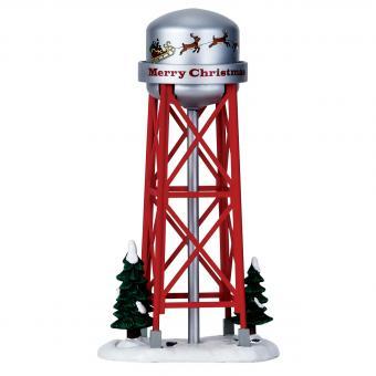 Weihnachtlicher Wasserturm