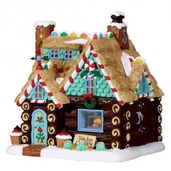 Blockhaus fürs Weihnachtsfest