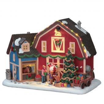 Weihnachten auf dem Bauernhof