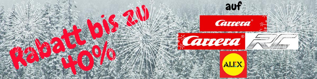 Carrera, Carrera RC, Carrera GO, Alex Rabatte bis 40%